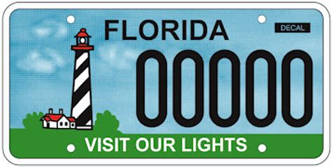 license plate light florida florida lighthouse association inc fla license plate