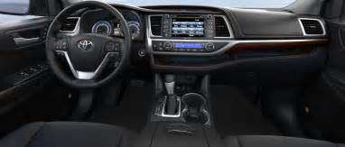 Toyota Highlander Interior Photos 2017 Toyota Highlander Price Release Date Future Auto