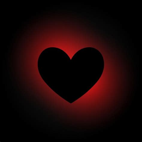 imagenes corazones oscuros heart in dark background vector free download