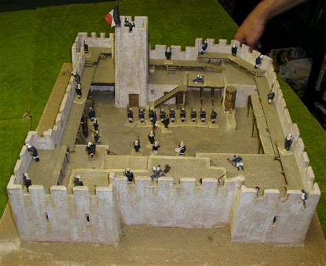 Historic Colonial House Plans how to build a foreign legion fort tutofig miniature