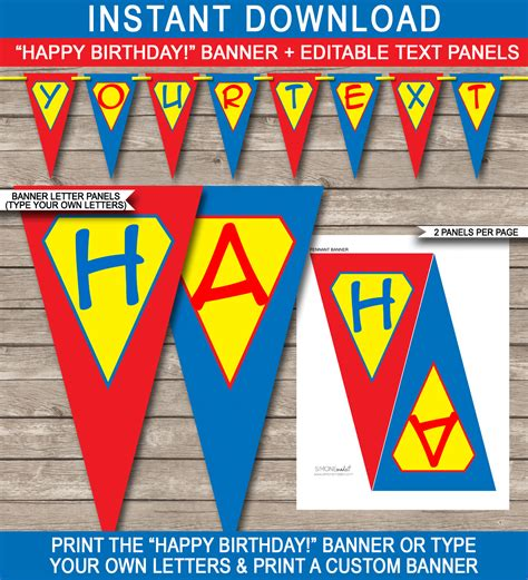 free happy birthday banner templates banner template birthday banner