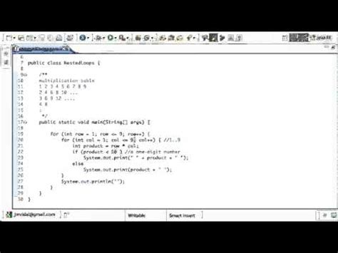 java pattern nested groups java programming tutorials 25 nested loops doovi