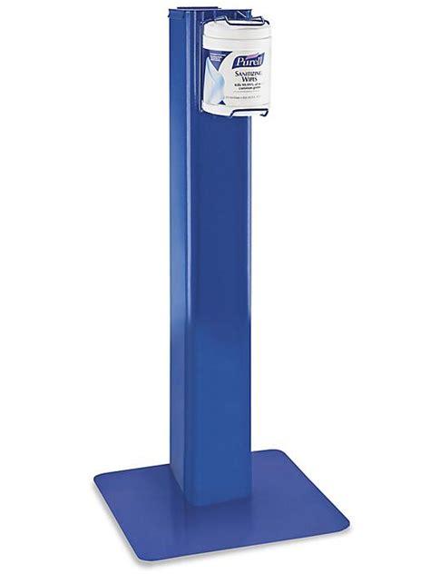 purell hand sanitizer wipes floor stand   uline