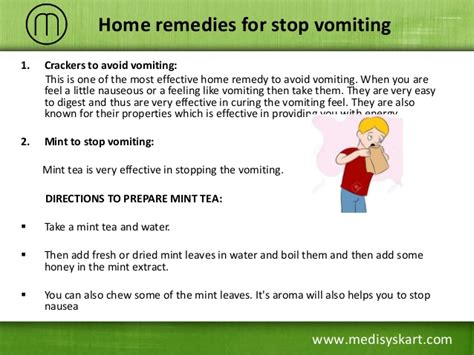 how to stop a from vomiting how to stop vomit at home howsto co