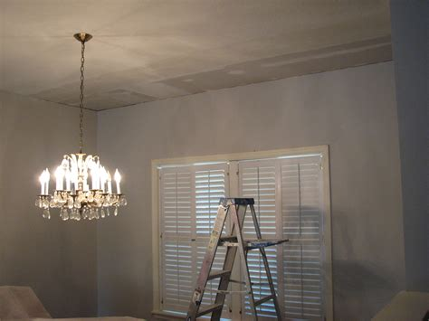 Finishing A Drywall Ceiling by Indialantic Water Damage Skip Trowel Ceiling Drywall