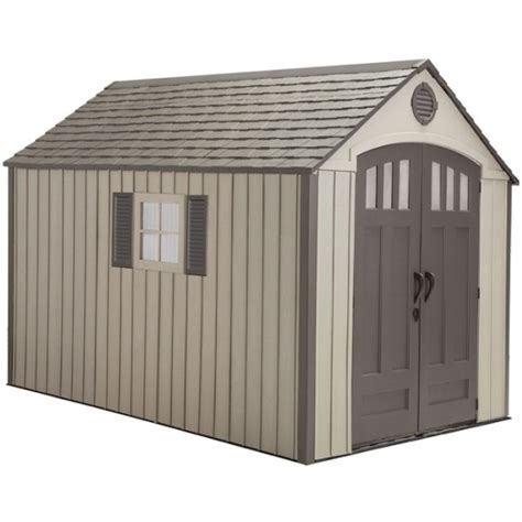 Plastic Outdoor Sheds by Lifetime Sheds 60086 8 X 12 5 Foot Plastic Storage Shed