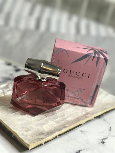 No Box Original Eropa Parfum Gucci Bamboo Edp 75 Ml gucci bamboo limited edition fragrance really ree