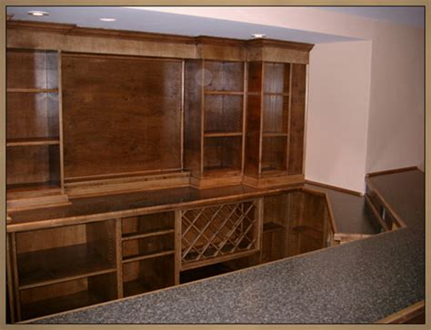 Built In Bar Cabinets Basement Remodeling Ideas Basement Bar Cabinets