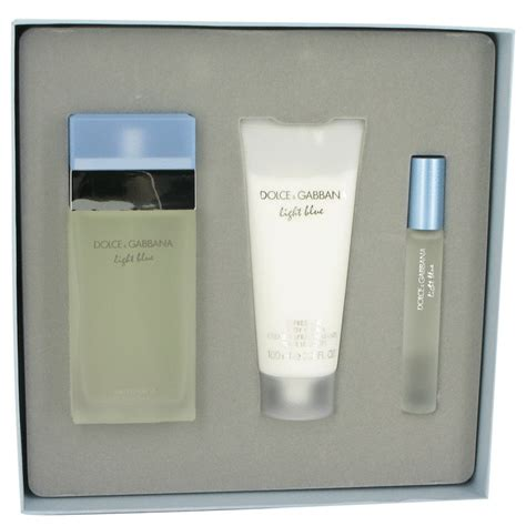 dolce gabbana light blue gift set dolce gabbana light blue perfume cologne at