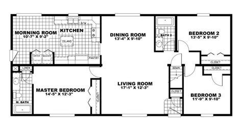 luxury oakwood mobile home floor plans new home plans design