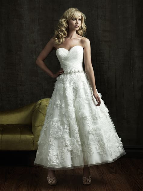 Length Wedding Dress by In Bridal And Formal Wear Tea Length