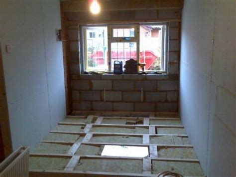 Raised Garage Floor by The Raised Floor Garage Conversion And Extension