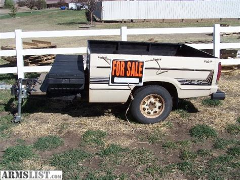 pickup bed trailer pickup bed trailer for sale 28 images armslist for