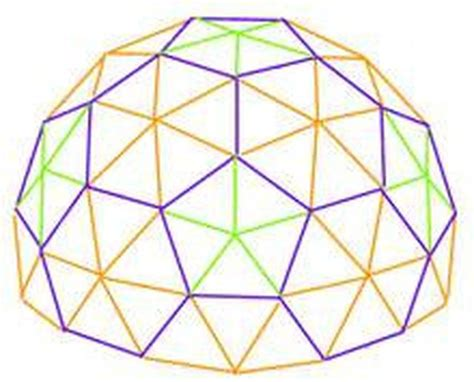 geodesic dome template how to build a concrete geodesic dome hunker