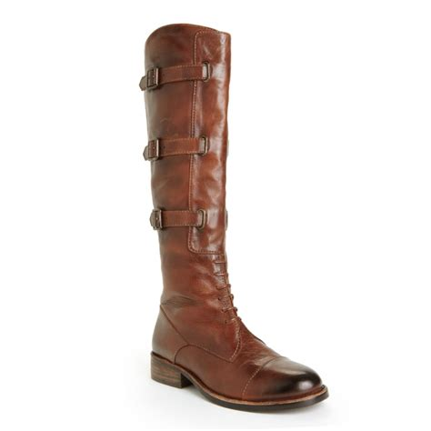 vince camuto boots sale vince camuto fivvy boots in brown lyst