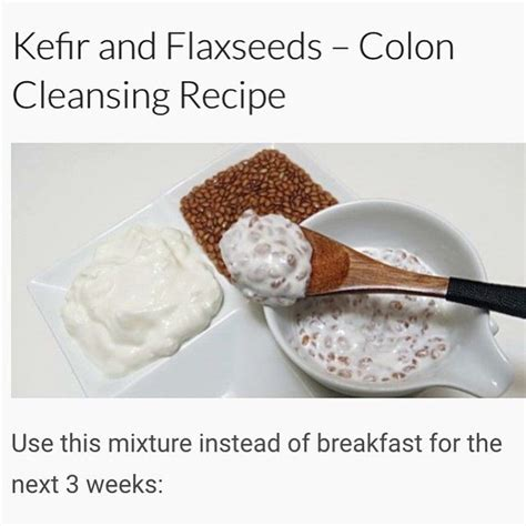 Kefir Detox Acne by Best 25 Colon Cleanse Recipes Ideas On