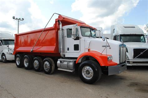 kenworth t800 dump truck 2005 kenworth t800 dump trucks for sale 16 used trucks