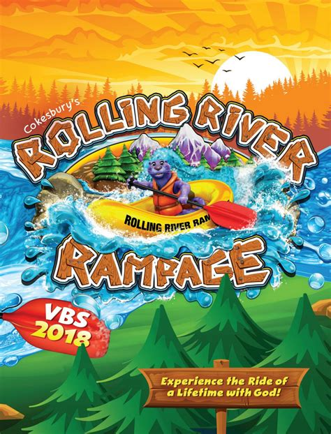 themes in the river god cokesbury s rolling river rage vbs 2018 catalog by