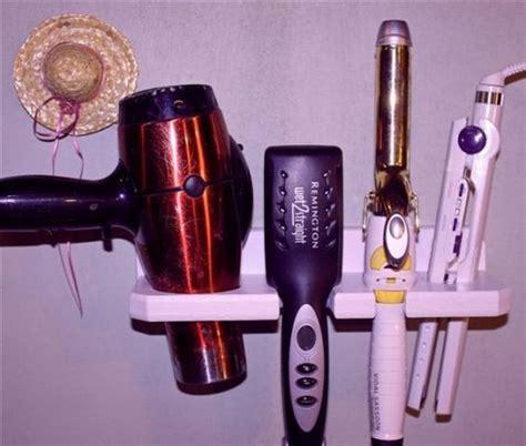 Hair Dryer Straightener Curler Holder hair dryer curling flat iron straightener holder