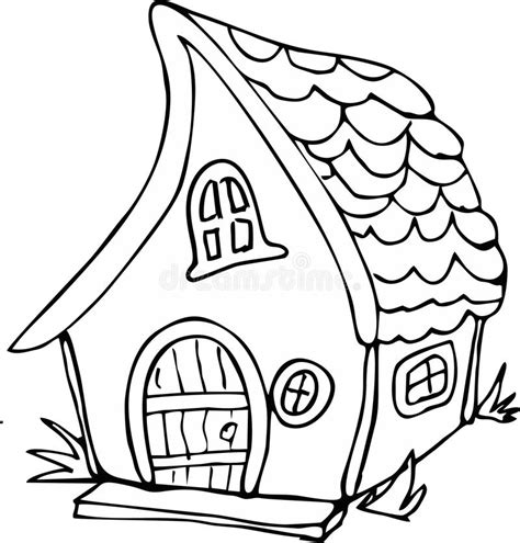 Home Design Doodle Book by Doodle Style Fairy House Stock Vector Image 74253054