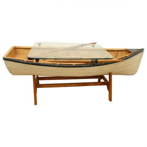 model rowing boat coffee table georgian antiques