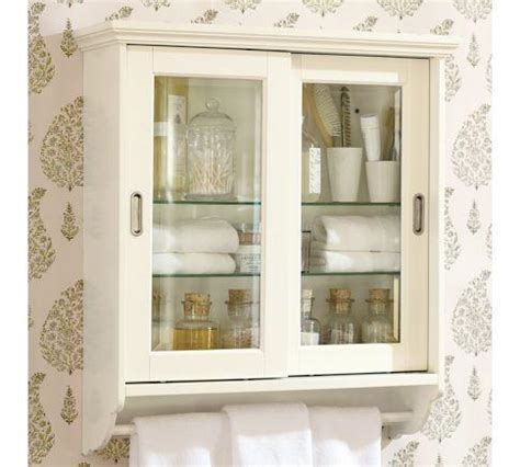 sliding door wall cabinet pottery barn