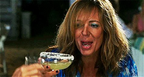 allison janney drinking gif find & share on giphy