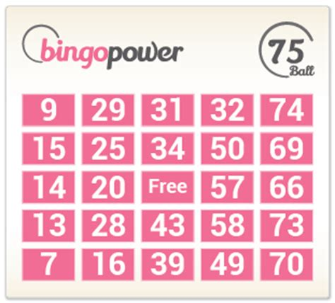 Bingo Card Template Png by How And Where To Play Bingo
