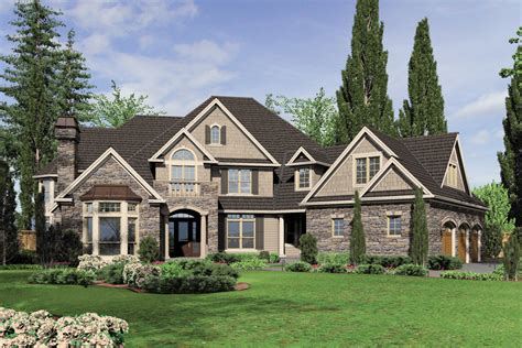 european style house plan 5 beds 5 50 baths 6020 sq ft