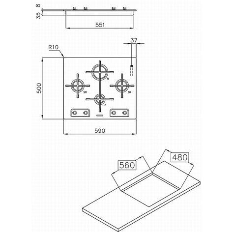 piani di cottura foster foster piano cottura veronika 7066052 foster