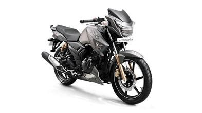 tvs apache rtr 180 abs price, images, colours, mileage