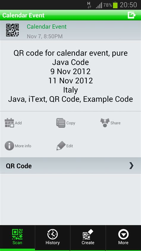 tutorial html code java qr code exle tutorial itext thinktibits