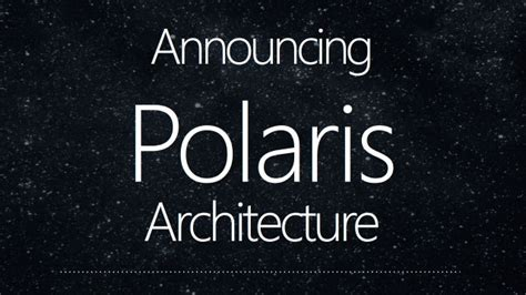Polaris 10 Stories amd s polaris will be a mainstream gpu not high end ars