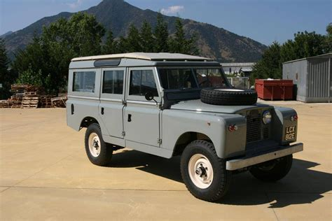 land rover safari 1961 land rover 109 series 2 safari station wagon lease