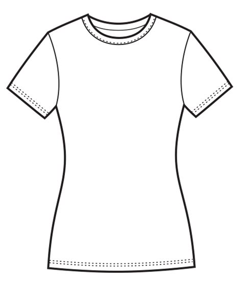 Drawing T Shirt Outline by Shirt Drawing Www Pixshark Images Galleries With A