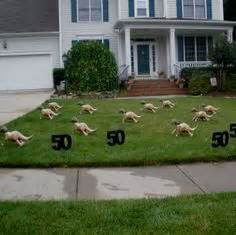 Home Lawn Decoration 1000 Images About Alvin S 50th Birthday On Pinterest