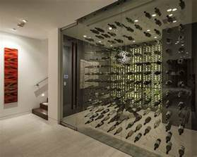 modern wine cellar interior design ideas