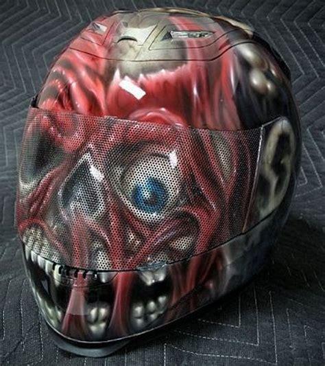 Motorradhelm Forstinger by Live Fast Die Clown Motorcycle Helmet