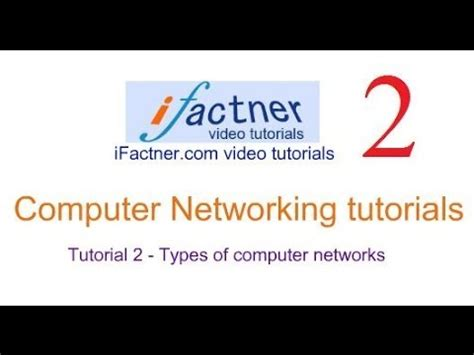 tutorial video networking computer networking tutorial hindi urdu 2 types of