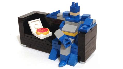 Weird Couches lego series turns heroes into couch potatoes nerdist
