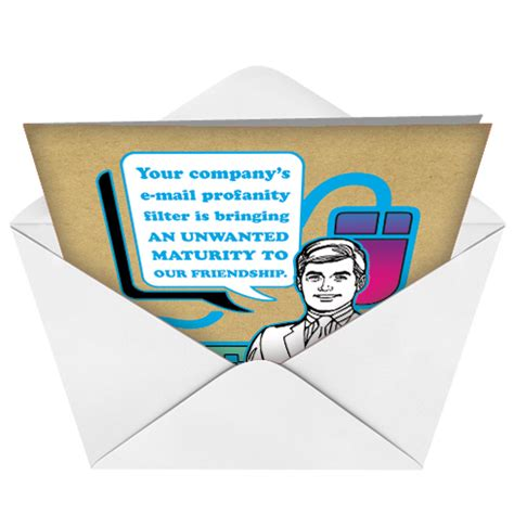 Email Birthday Card Email Profanity Funny Birthday Greeting Card