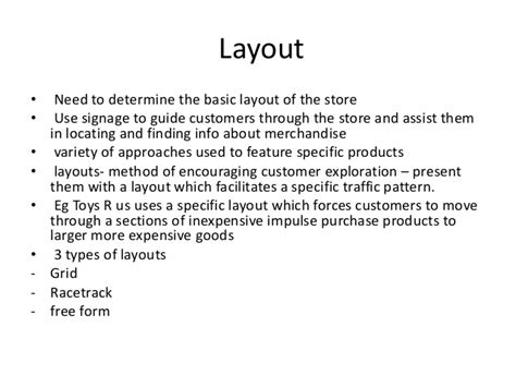 supermarket layout principles retail store layout design and display