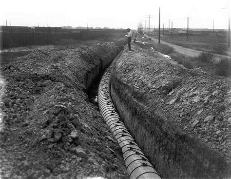 And The City In The Pipeline by Sewer History Photos And Graphics