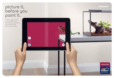 dulux visualizer ar app lets you virtually paint your walls