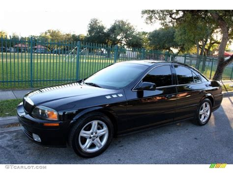 and black ls black 2002 lincoln ls v6 exterior photo 41000570