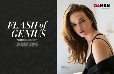 Super Small by Exclusive Feature Danielle Panabaker Da Man Magazine