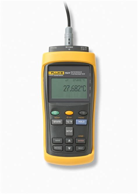 Thermometer Fluke reference thermometers by fluke calibration models 1523