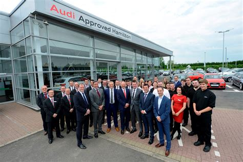 audi braehead glasgow lookers opens one of the largest audi showrooms in europe