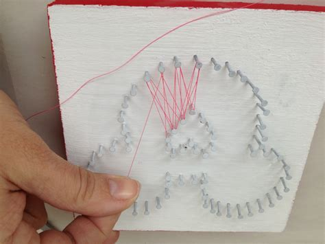 String Patterns For Beginners - diy mickey string this tale
