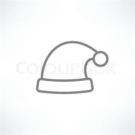 white santa hats white santa hats stock vector colourbox